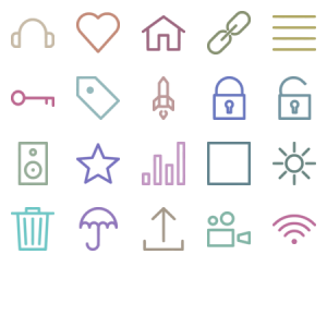 Most Useful Icons