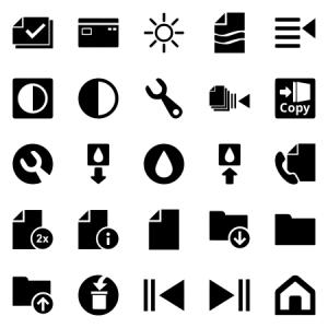 Printer Control Ui Elements