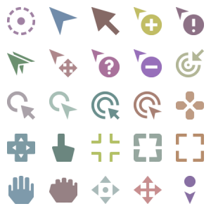 Selection Cursors Solid Style