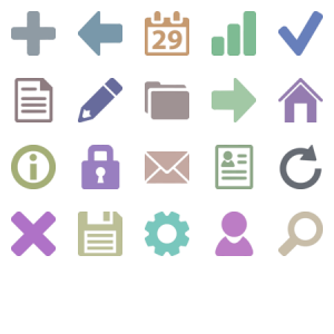 Vector Icons For Mobile Apps
