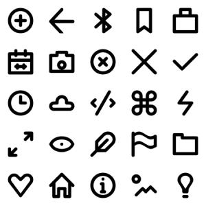 Essential Tiny Icons