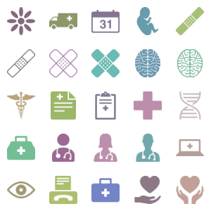 Complete Medical Healthcare Icons For Apps And Web