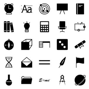 Education Science Glyph