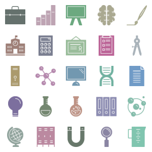 Education Science Glyph