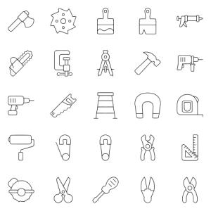 Tools Equipment Thin Version