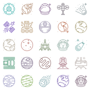 Smashicons Space