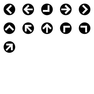 Round Arrows