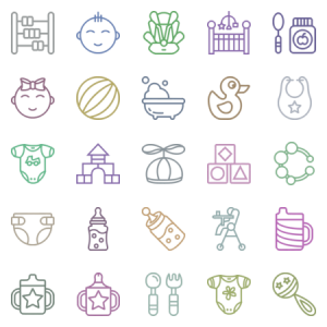 Smashicons Baby Outline