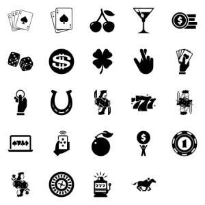 Casino And Gambling Icons
