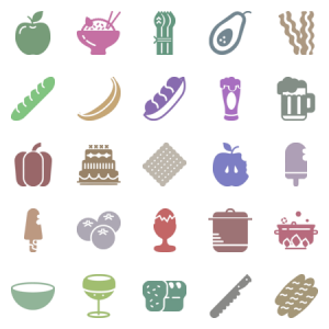 Smashicons Gastronomy Solid