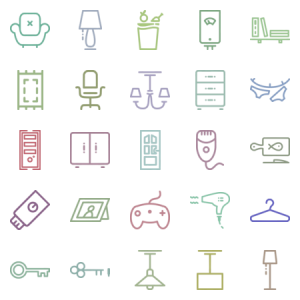 Home Icon Set Iind Part