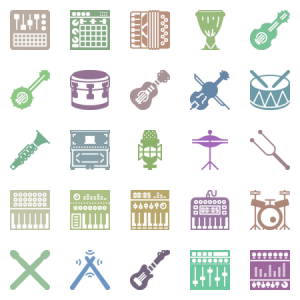 Smashicons Music Solid