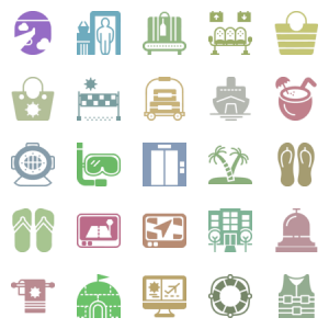 Smashicons Travel Solid