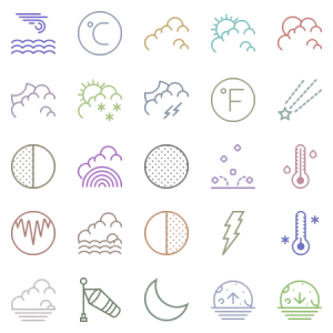 Smashicons Weather Outline