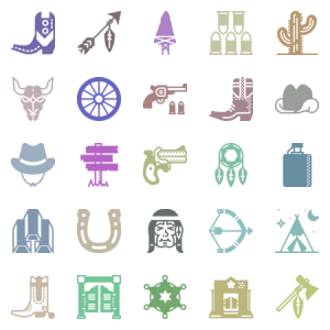 Smashicons Wild West Solid