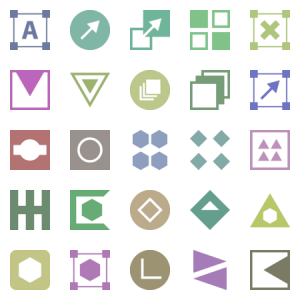 Abstract  Glyph