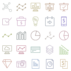 Business Money Icons