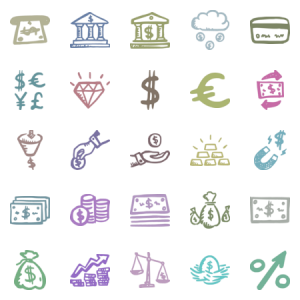 Busy Icons Finance
