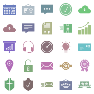 Supply Of Services Glyph
