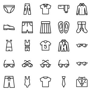 Clothes Accesories Set