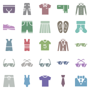 Clothes Accessories Set
