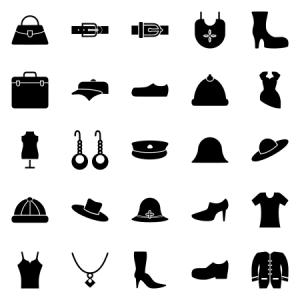 Clothes Fashion Glyph