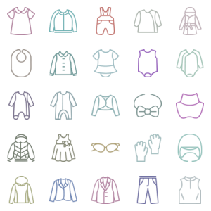 Types Of Clothes And Accessories For Children In L