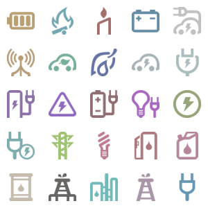 Energy Svg Icons