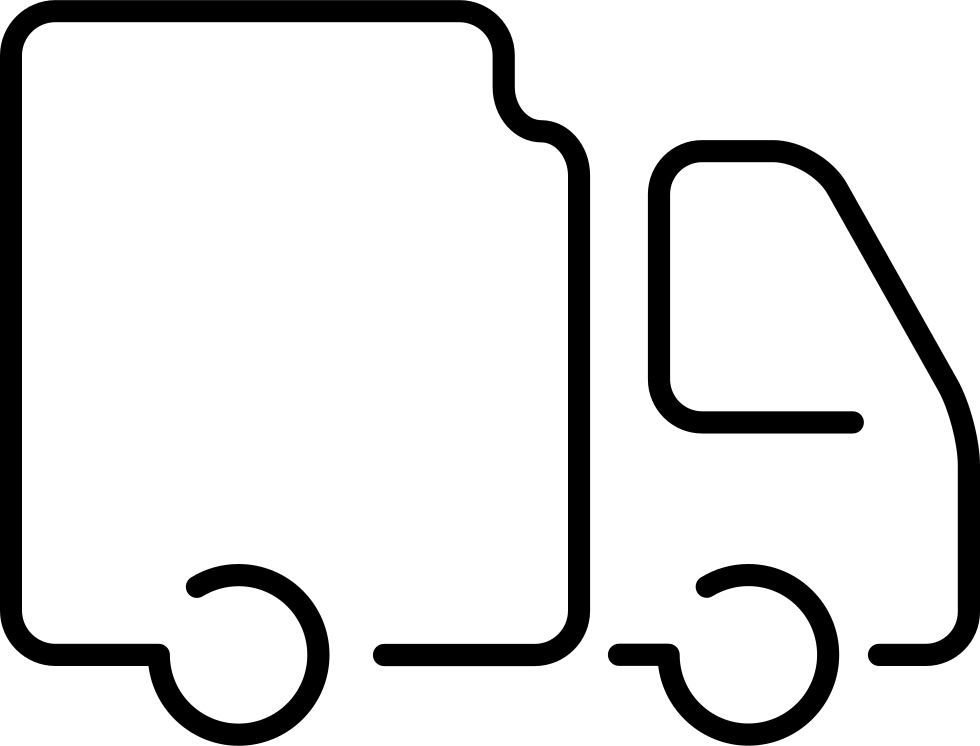 Albion Online Download >> Logistics Truck Ultrathin Vehicle Outline Svg Png Icon Free Download (#10130) - OnlineWebFonts.COM