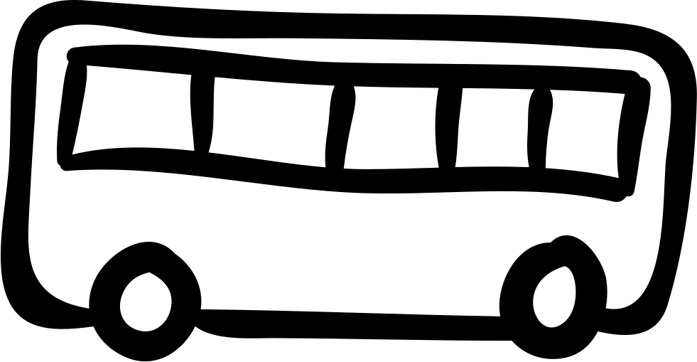 Bus Hand Drawn Transport