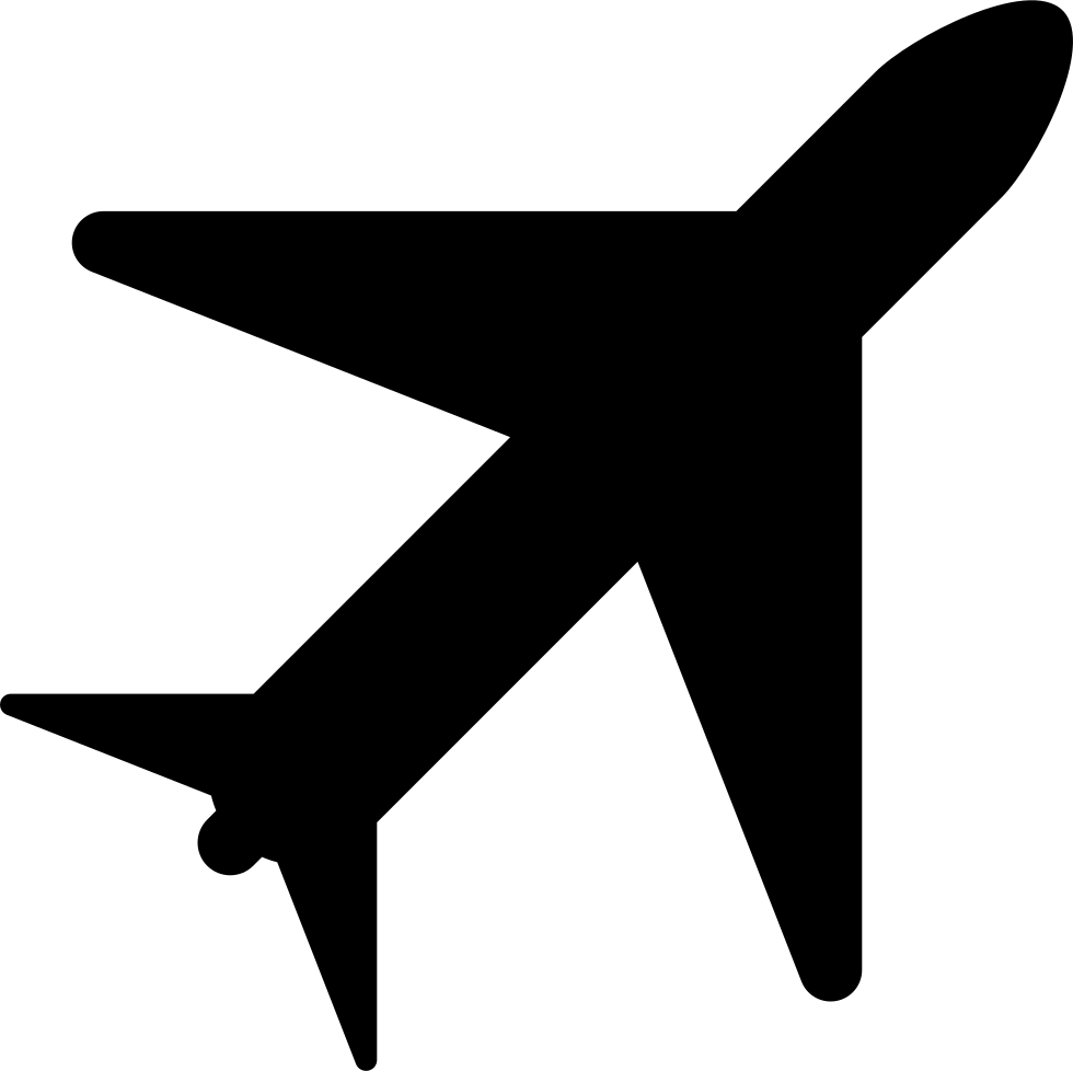 Airplane Svg Png Icon Free Download (#10589