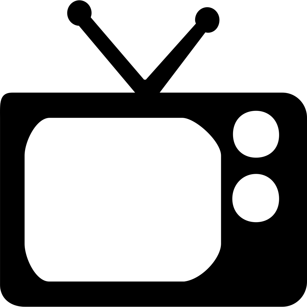 Television Svg Png Icon Free Download (#108673 ...