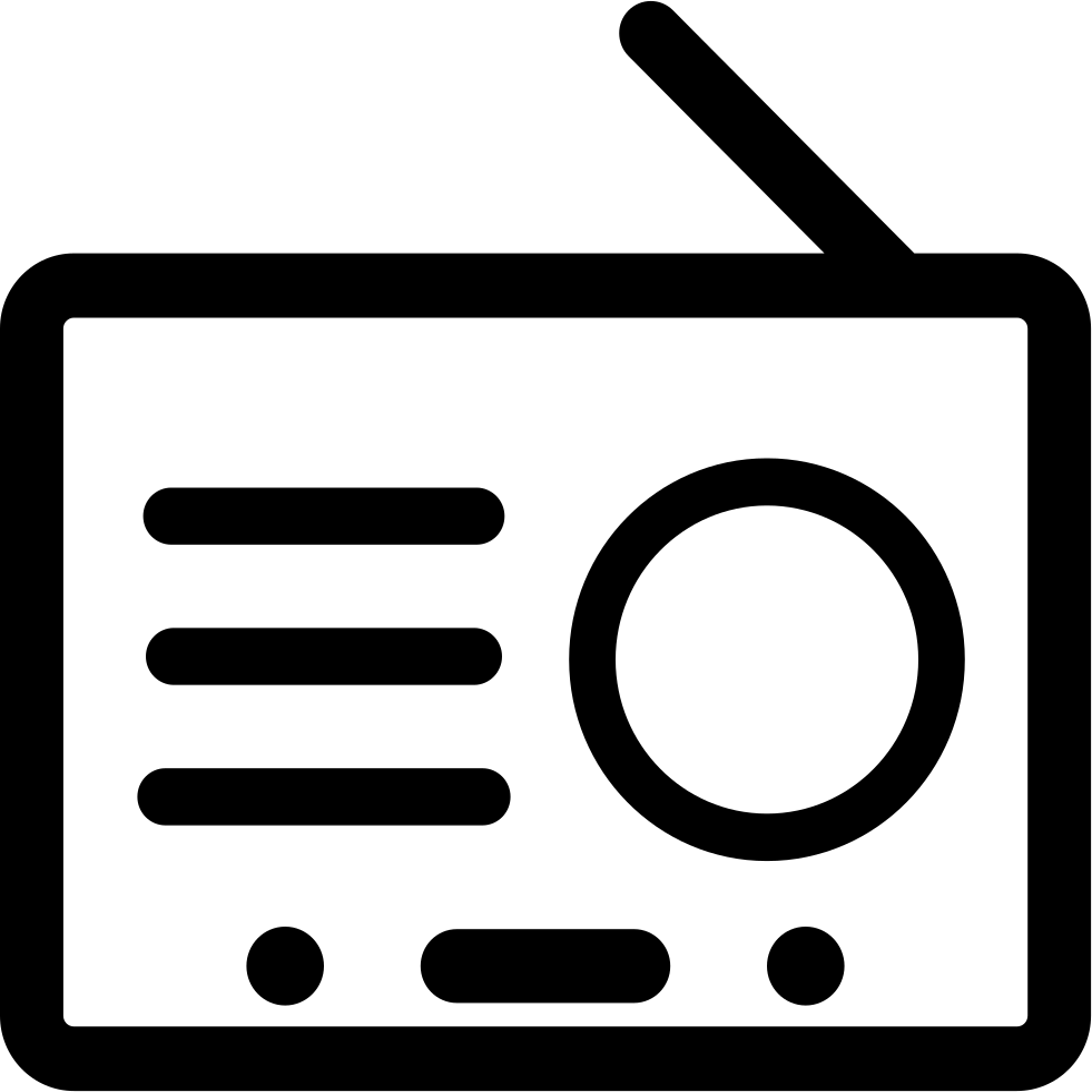 Radio Svg Png Icon Free Download (#118894 ...
