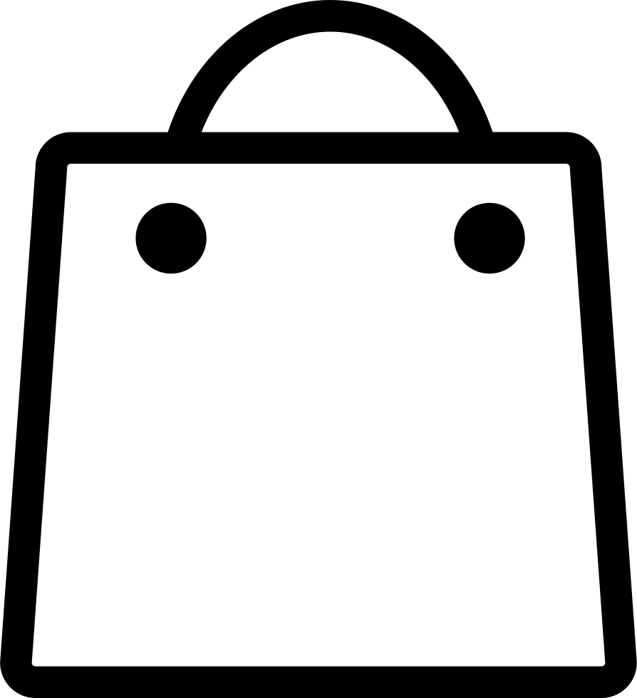 Shopping Bag Svg Png Icon Free Download (#121304 ...