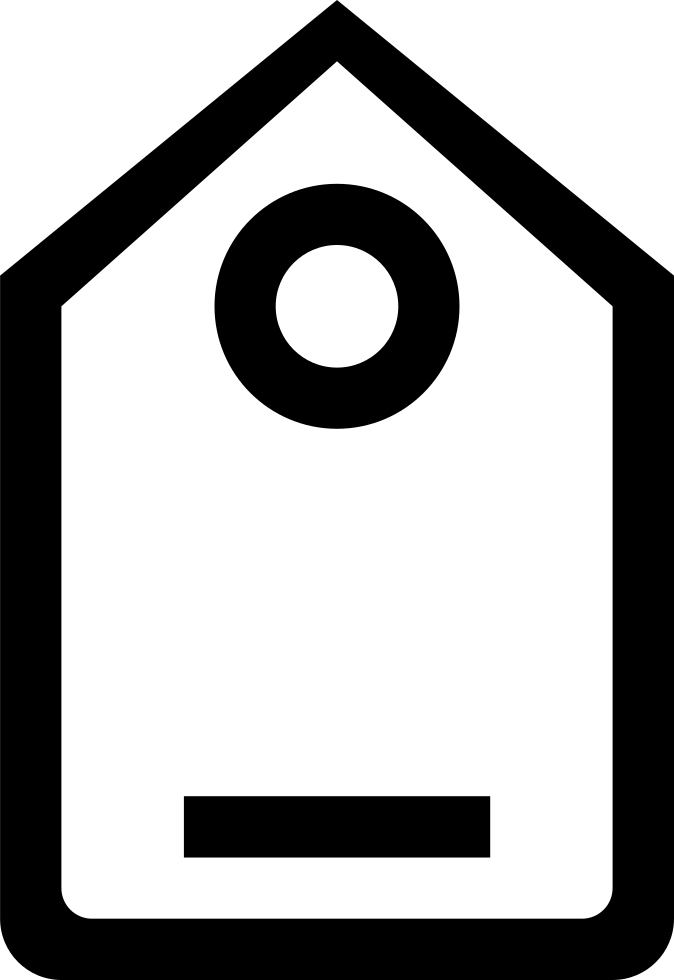 Label Outline In Vertical Position