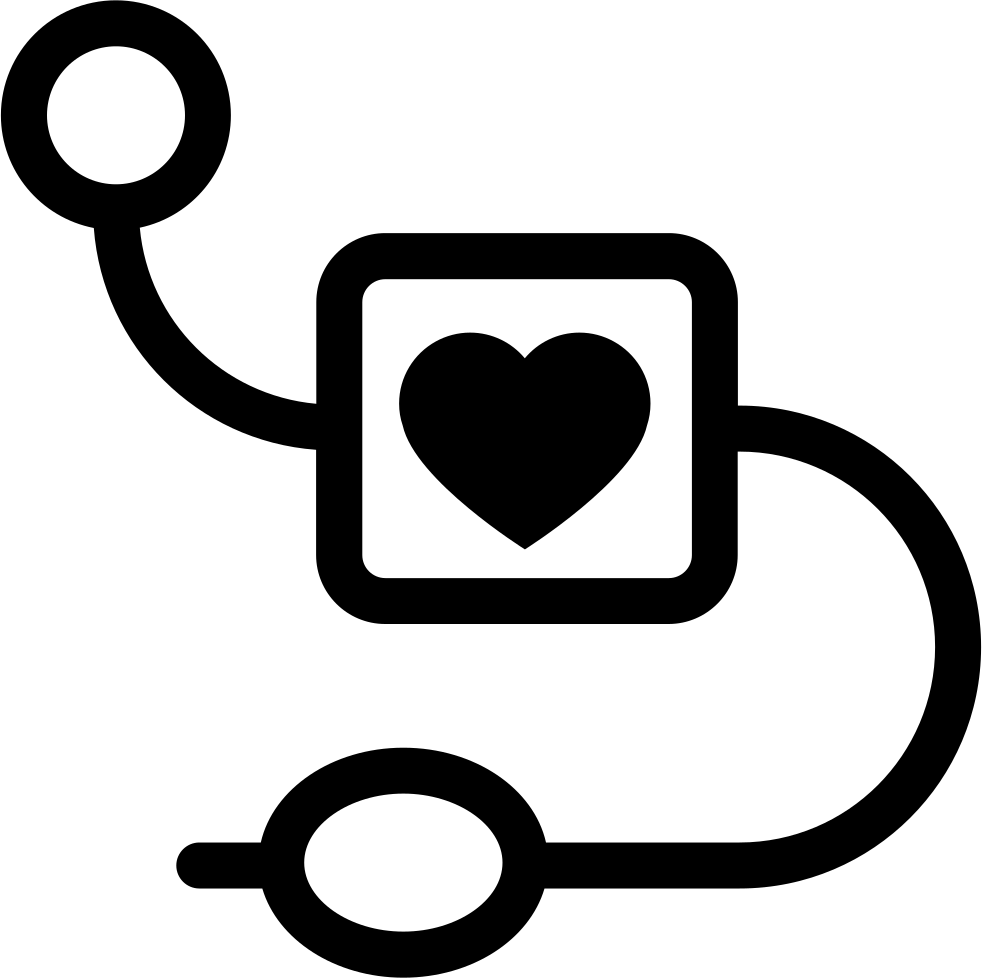 Medical Equipment With Heart Symbol