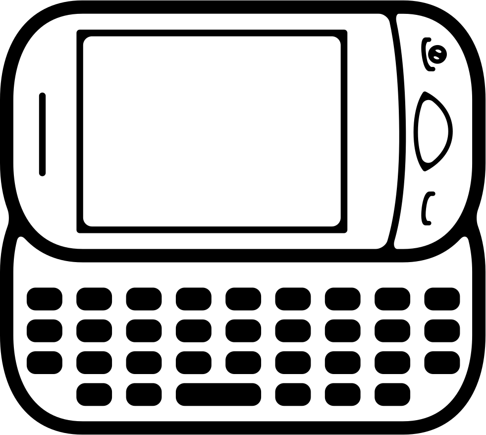 Mobile Phone With Big Keyboard