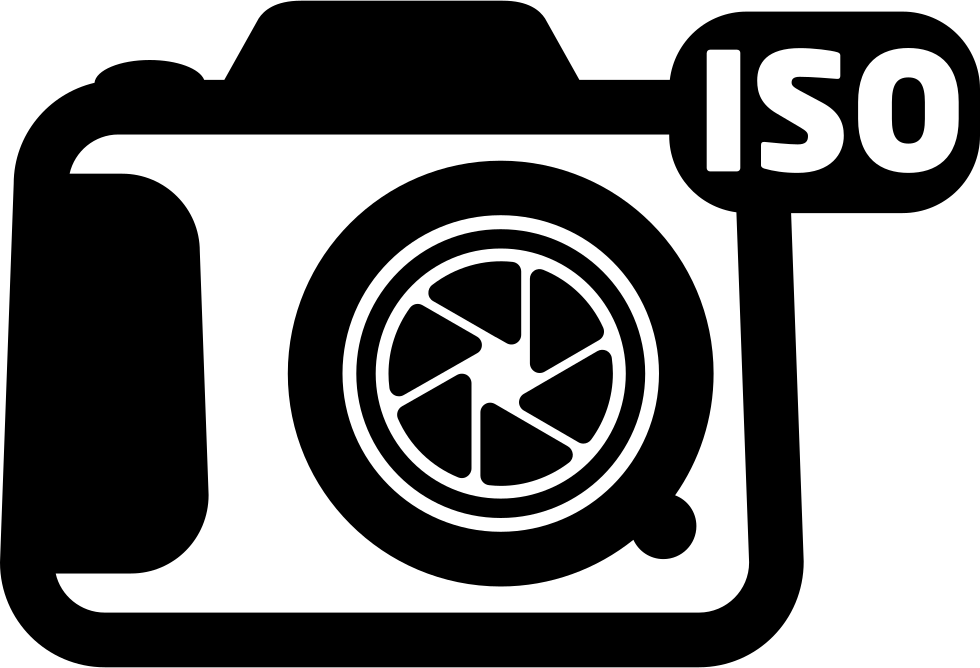 Photo Camera ISO Symbol For Interface