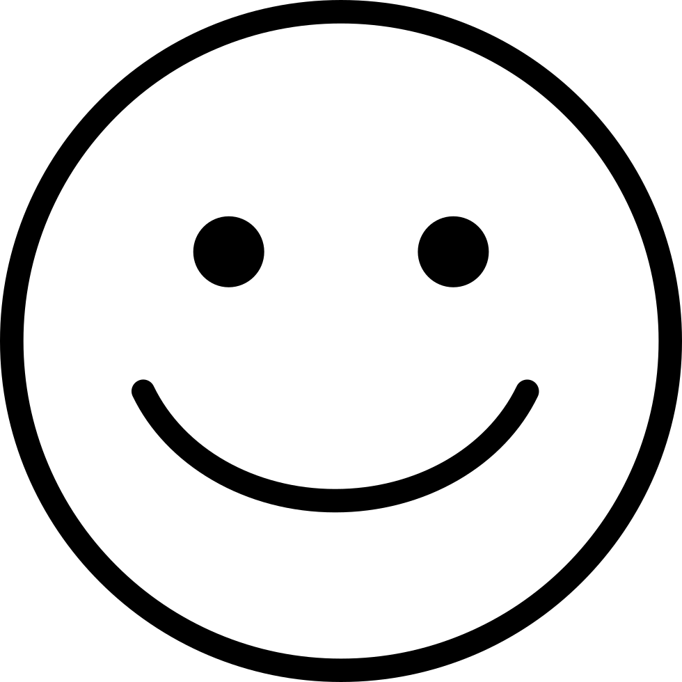 single round smile svg png icon free download   138004
