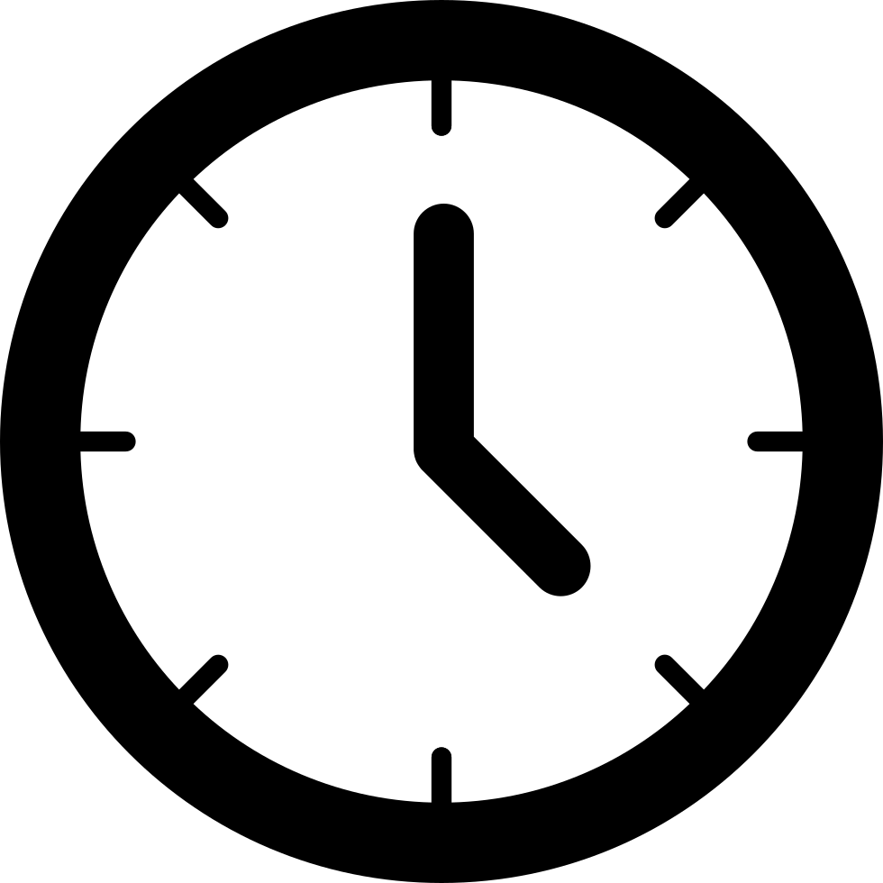 Clock Svg Png Icon Free Download (#143076 ...