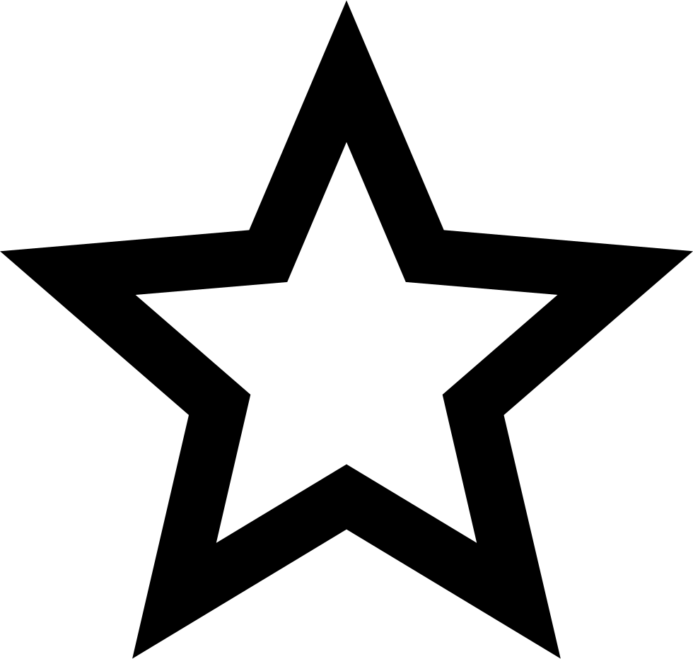 Material Star Outline