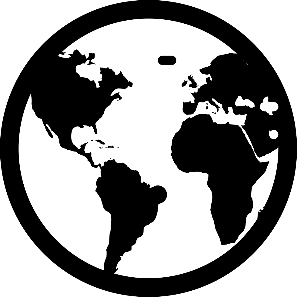 Earth Globe Svg Png Icon Free Download (#1485