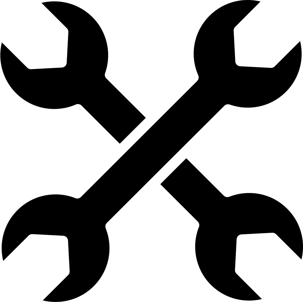 Cross Of Double Side Wrenches