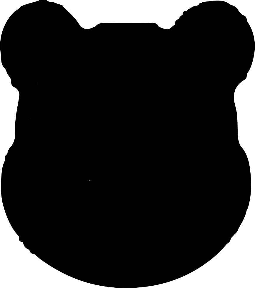 Small Leather Bear Logo