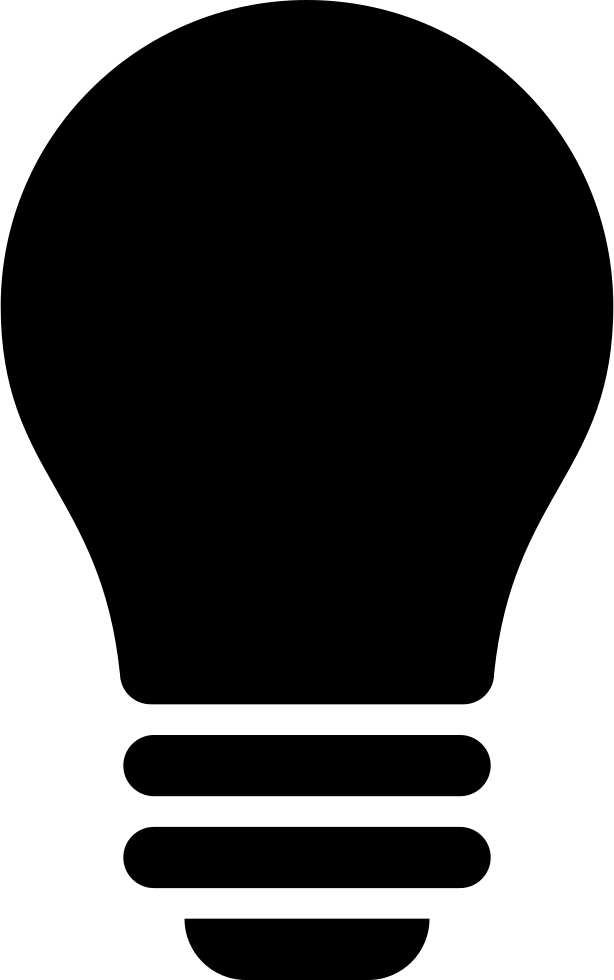 Black Light Bulb Svg Png Icon Free Download (#15036 ...