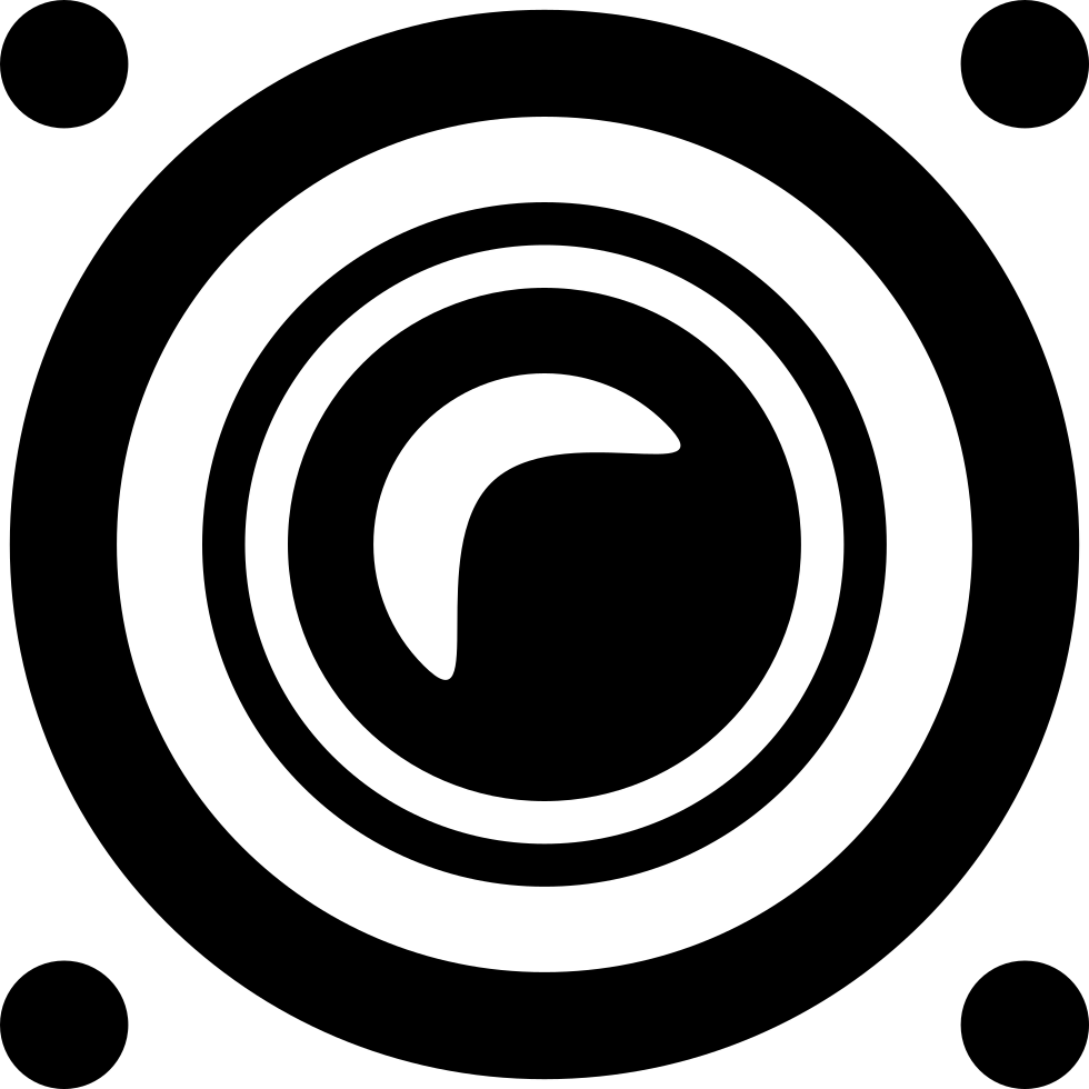 Speaker Frontal Audio Interface Symbol