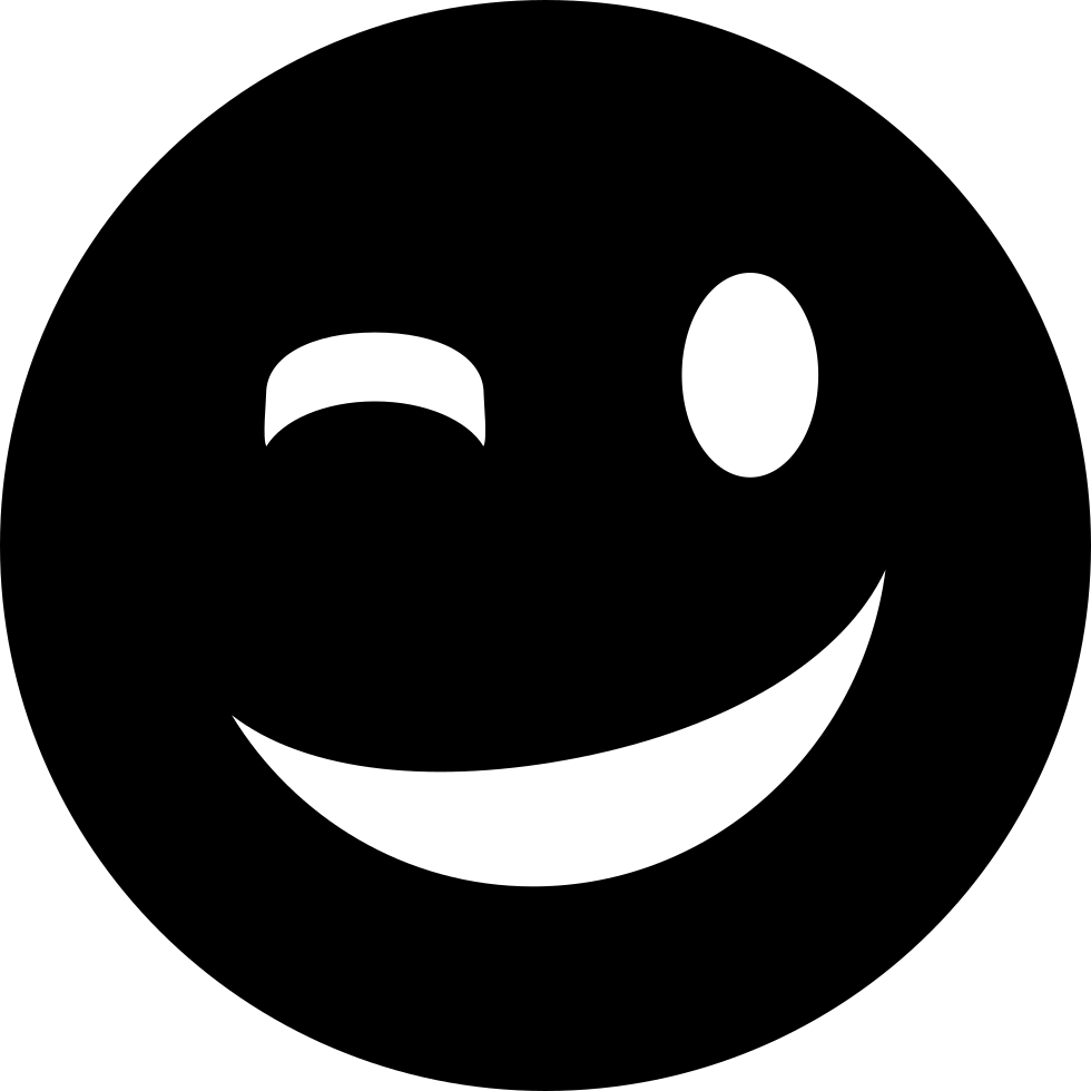 Wink Svg Png Icon Free Download   154937