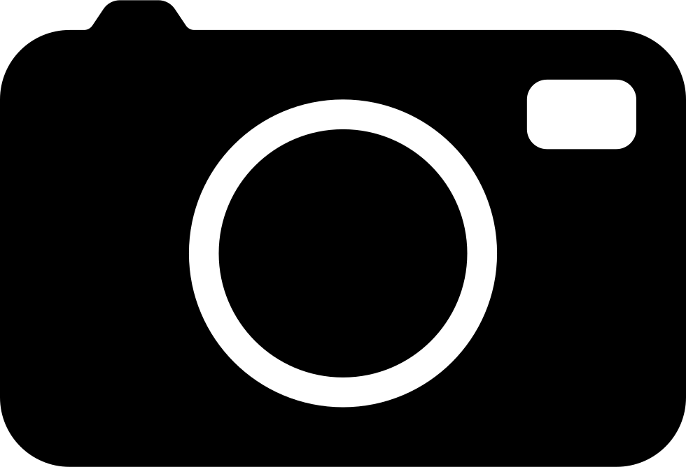 Photo Camera Interface Symbol To Activate The Tool To Take A Picture