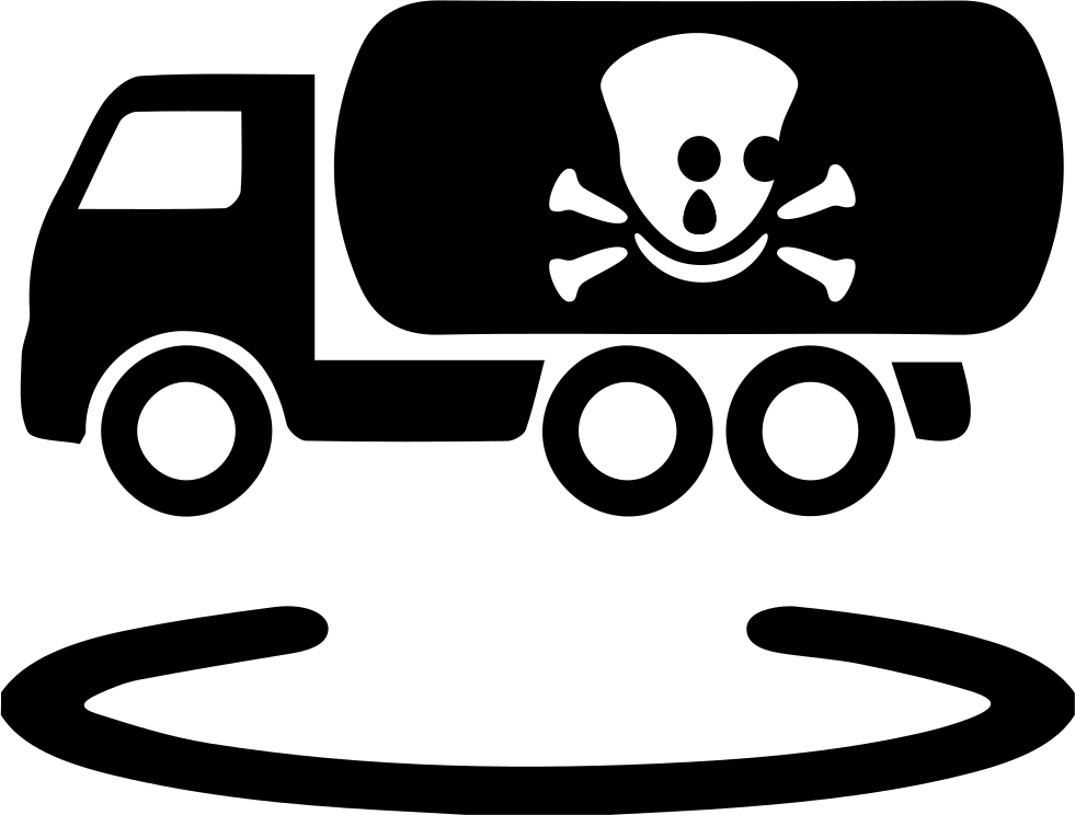 Vehicle Space Position For Carrying Dangerous Chemicals