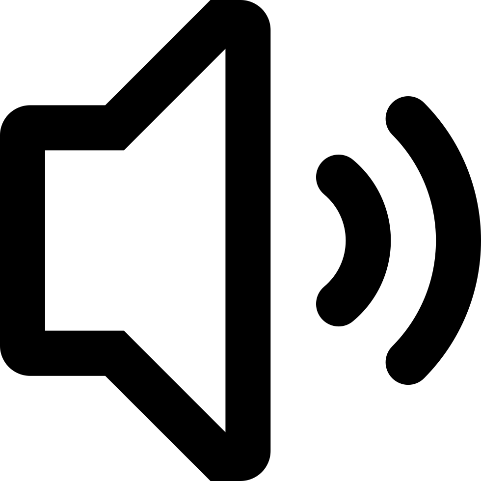 Speaker Audio Interface Symbol